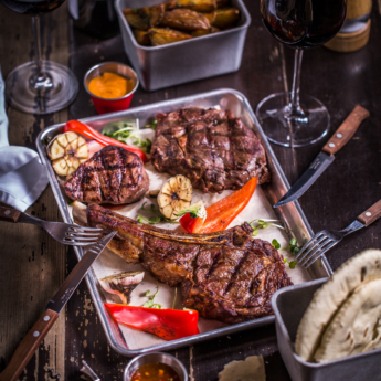Big steak set